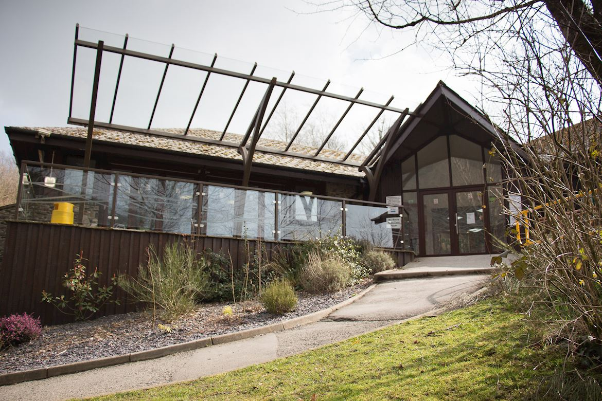 Visitor Centre at Afon Forest Park