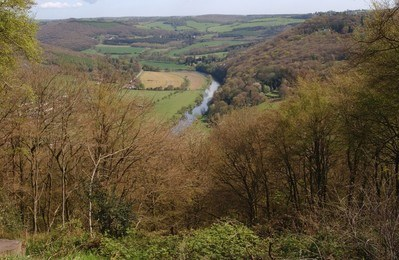 View of the Wye Valley