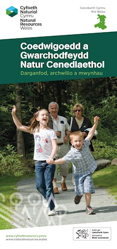 Forests and National Nature Reserves in Mid Wales leaflet