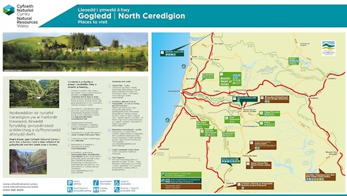 PDF on how to get to Cprs Caron National Nature Reserve