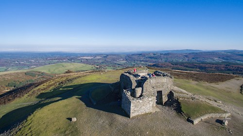 Jubilee Tower at Moel Famau