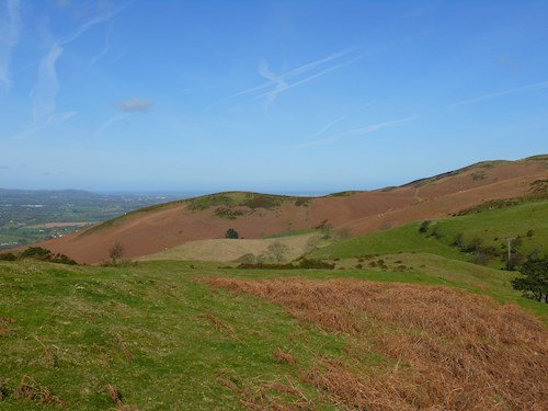 view of the Offas Dyke