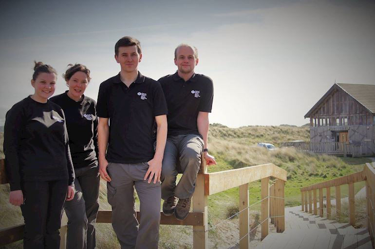 NRW staff members - Jack, Llinos, Catherine, Richard